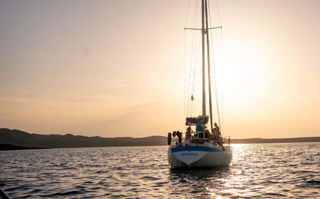 excursion velero menorca