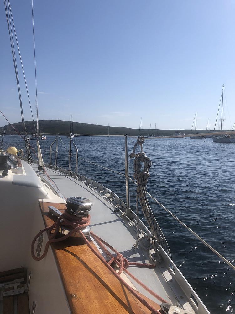 tour velero menorca
